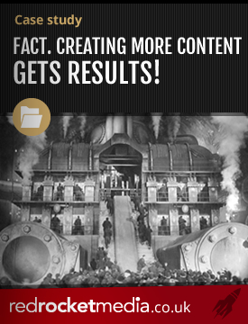 Fact creating more content gets results