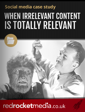 When irrelevant content is totally relevant