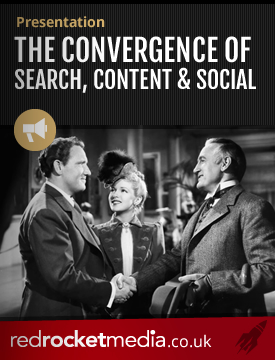 The convergence of search content and social
