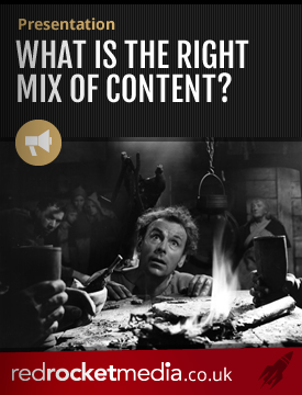 What is the right mix of content