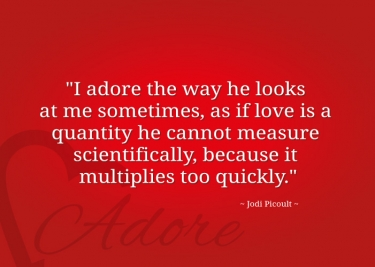 Quote About The Word Adore