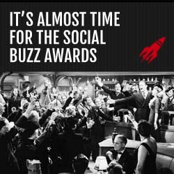 Almost time for the Social Buzz Awards